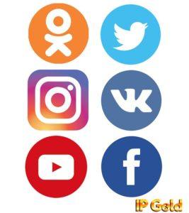 ipgold в социальных сетях